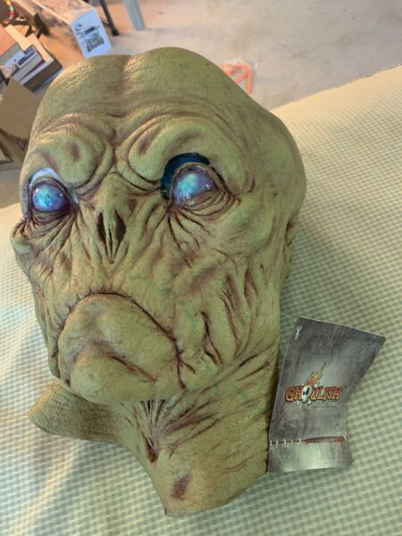 "Latex Rubber Alien Head Mask - New (Ghoulish Productions ""Alien Probe"") $36.99"