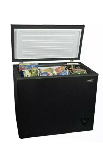 Arctic King 7 cu ft Chest Freezer, Black - FREE Shipping - Brand New