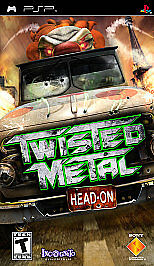 Twisted Metal: Head On Sony PSP 2005 brand new factory sealed