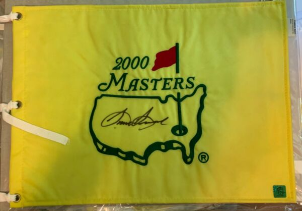 Sam Snead Signed Masters Pin Flag