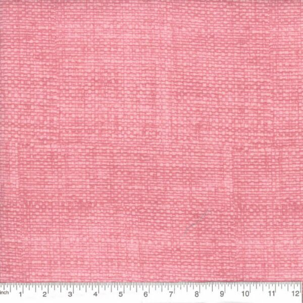 Pink Burlap Print 100% Cotton Fabric by the 1 4 yard off bolt Good for face mask