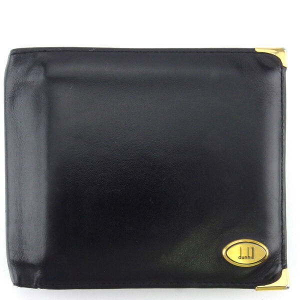 dunhill wallets Oxford leather Auth used T18572 $184.80
