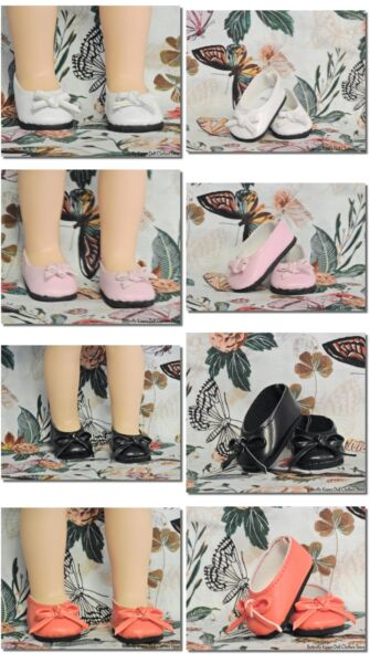 Slip On Bow Flat Shoes 14.5