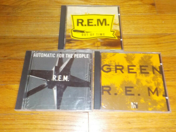 R.E.M. CD Lot Green Automatic For The People Out of TIme 3 cds $4.99