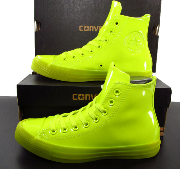 Converse Chuck Taylor All Star Hi  Volt Neon Green 153231C 7 Men (9 Women)