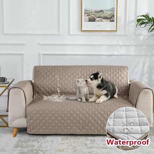 Waterproof Sofa Cover Chair Anti Slip Couch Pet Dog Kids Mat Furniture Protector $28.99