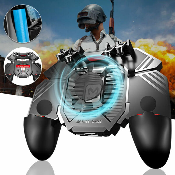PUBG Game Controller Game Pad Joystick Wireless for IOS iPad Android Tablet $15.48