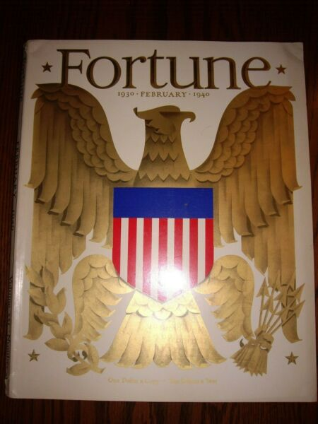 FORTUNE FEBRUARY 1940 VOL XXI NO 2 – MAGAZINE – Very good condition.  It has a s