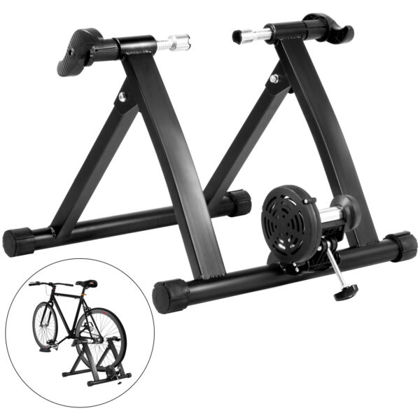 Bike Trainer Stand Magnetic Resistance Bicycle Indoor Exercise Training Black $99.99