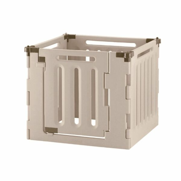 Richell 94906 4 Panel Convertible Indoor Outdoor Pet Playpen Kennel Gate