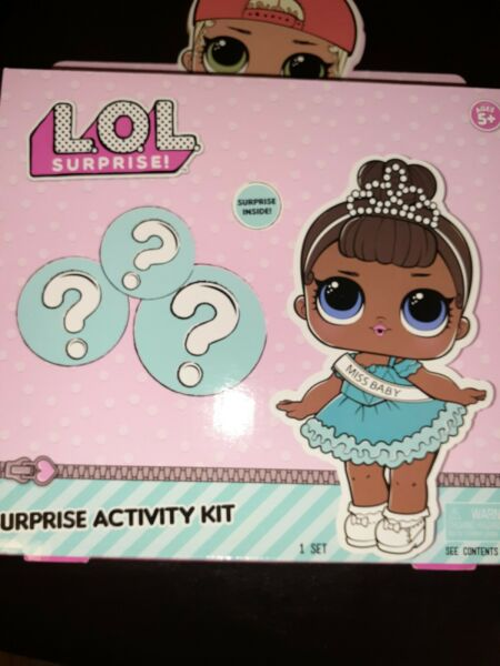 Lol Surprise Doll Activity Art Kit NEW Girls 2019 Coloring Book Stickers Markers