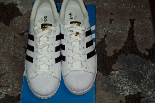 New Adidas Superstar Sneakers-Size 9