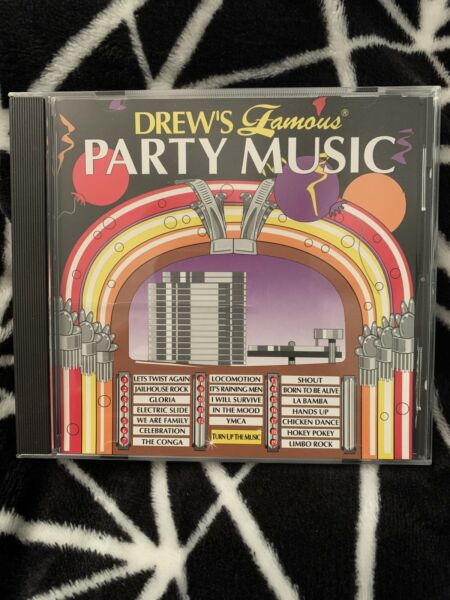 Drew's Famous PARTY MUSIC CD - Electric Slide Chicken Dance Celebration YMCA