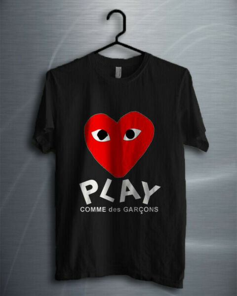 Rare!!! Play Comme des Garcons T Shirt unisex Size S - 5XL FreeShipping #02009