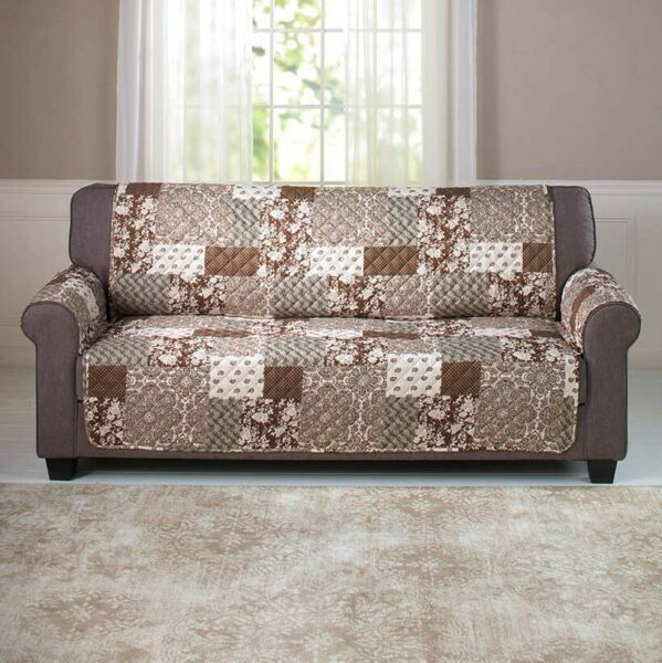Sofa Slipcover with Quilted Pattern with Reversible Side $32.98