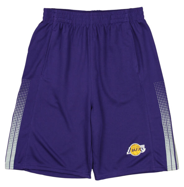 Outerstuff NBA Youth Los Angeles Lakers Slam Dunk Shorts Purple