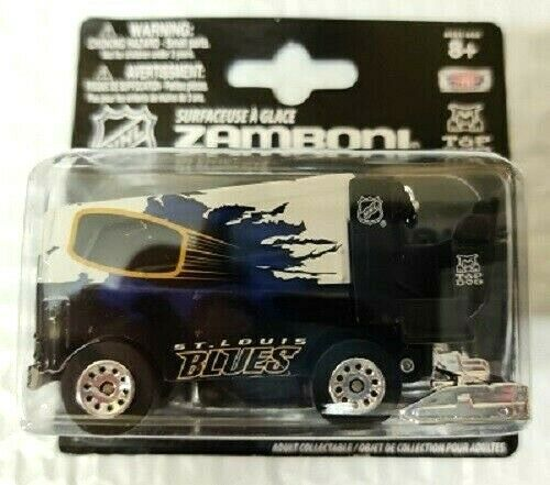 TOP DOG NHL 2014 15 ST. LOUIS BLUES 1:50 Scale Zamboni NEW FREE SHIP $9.99