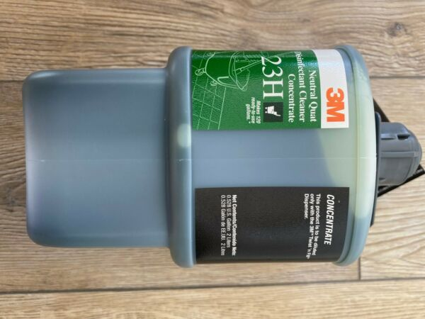 3M™ Quat Disinfectant Cleaner Concentrate 5H Gray Cap 2 Liter Makes 127 Gal $45.00