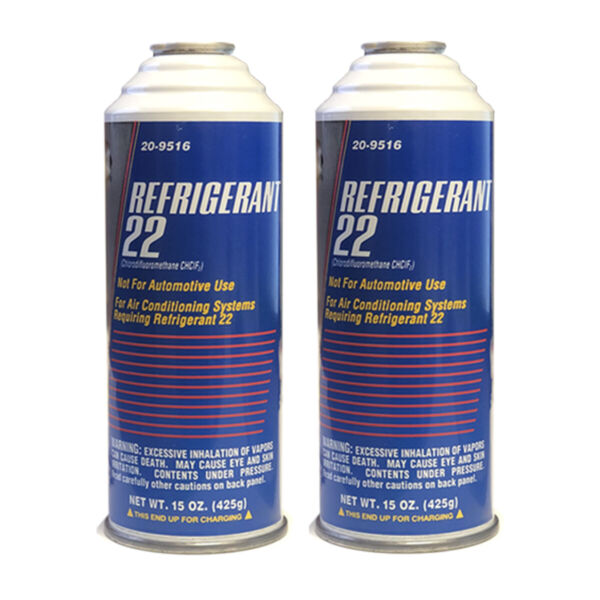 DiY Parts R22 Refrigerant can for Home use in 15 oz can Qty of 2 R 22 cans $109.95