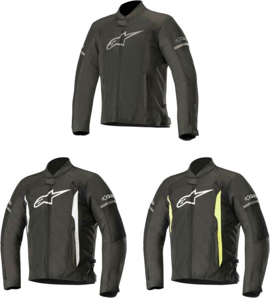 Alpinestars T Faster Air Jacket Motorcycle Street Bike Riding Textile Mens $169.95