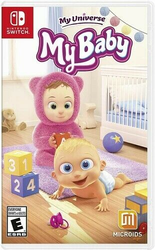 My Baby for Nintendo Switch New Video Game $31.97