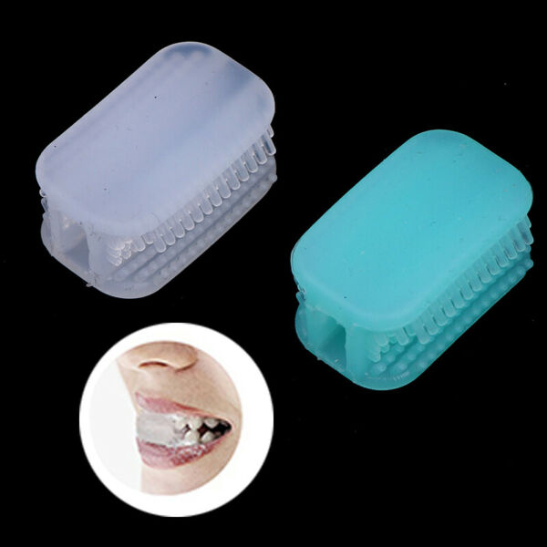 Silicone Toothbrush 360° All-Round Chewing Automatic Toothbrush Hand-Free Cl BP $4.53