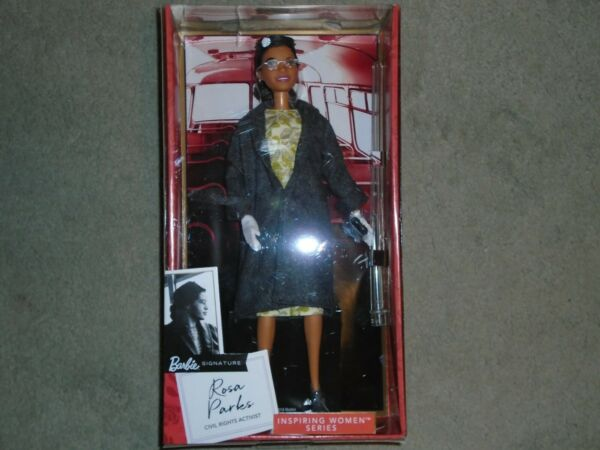 Barbie Signature Inspiring Women Series Rosa Parks Collectible Barbie with Stand
