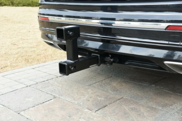 TOPTOW Trailer 2 inch Dual Hitch Receiver Adapter Extender for Towing and Riser $41.98