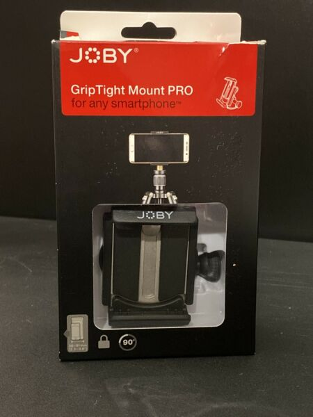 Joby GripTight Mount Pro Tripod Head for Most SmartPhones Black