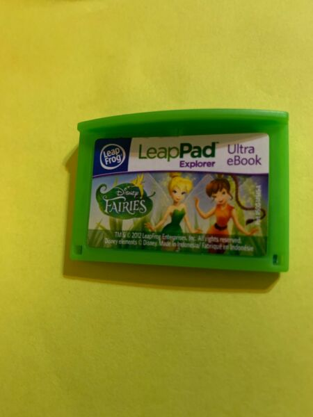 Leapfrog Leapster Explorer Game FAIRIES ULTRA EBOOK Leap Pad 2 3 GS XDi Ultra $7.99