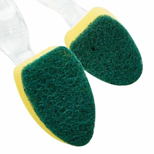 Kitchen Cleaning Supplies Brushing Pot Sponge OR Brush Cleaner Detachable Handle