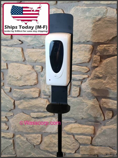 Touchless Automatic Sanitizer Dispenser w Floor Stand 1000ML Commercial $18.00