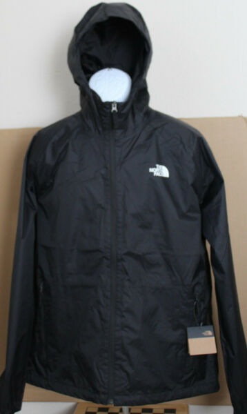NWT The North Face Men#x27;s Boreal Rain Jacket Water Proof Black SIze M LXL2XL