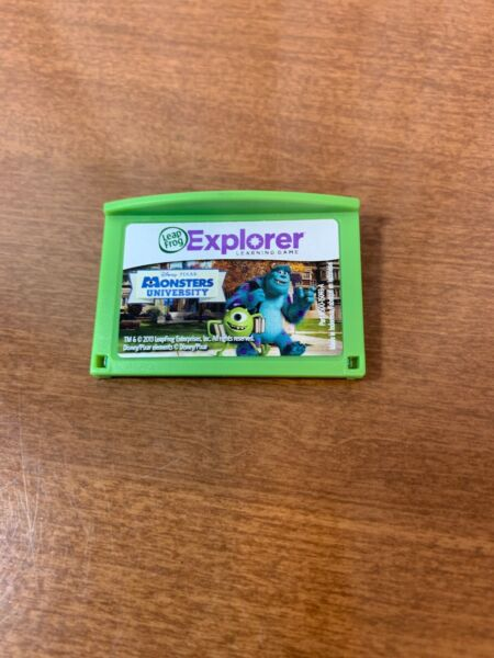Leapfrog Leapster Explorer Game MONSTERS UNIVERSITY Leap Pad 2 3 GS XDi Ultra $6.99