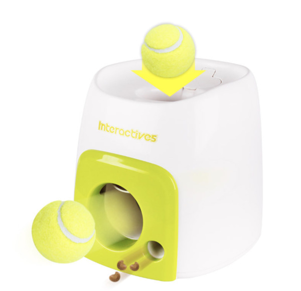 Automatic Interactive Ball Tennis Launcher Dog Pet Toys Training Game Dog Fetch $24.99