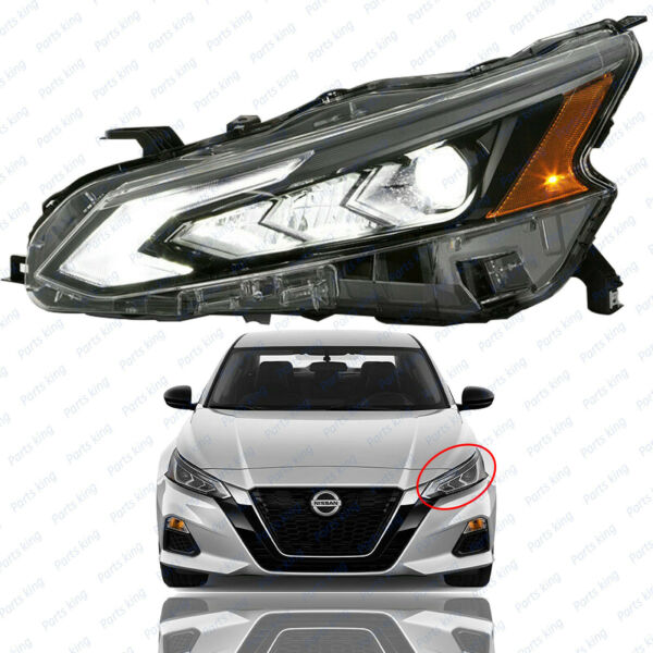 For 2019 2020 2021 Nissan Altima Headlight Assembly LED Left Driver Side $199.95