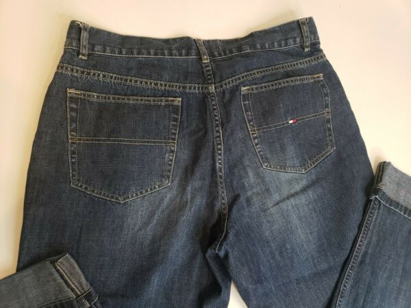 Tommy Hilfiger Womens Jeans cuffed pant legs Size 12 $15.00