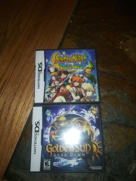 Summon Night: Twin Age Complete Nintendo DS 2008 Golden Sun Ds sealed