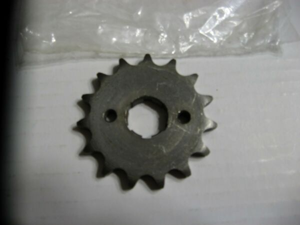 NOS Honda Parts 15 Tooth Front Sprocket CB amp; CL 160 amp; 175 Made In Japan 1969