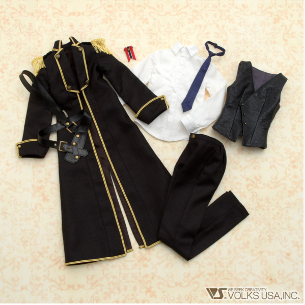 Volks Black Abyss Boys Super Dollfie BJD Doll Outfit Coat 2020 1 3 New