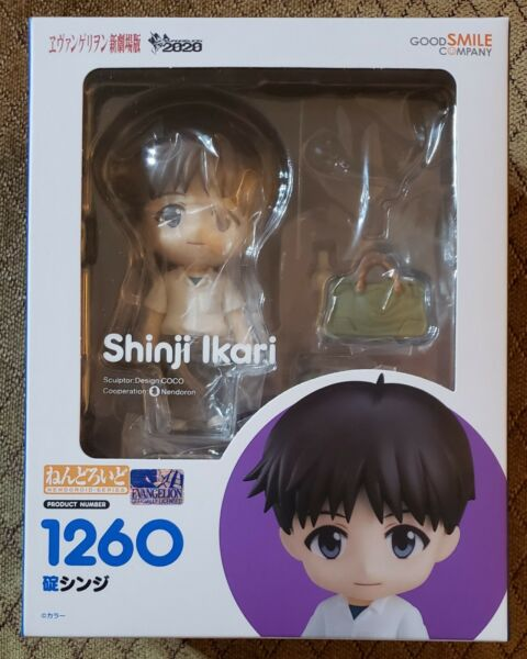 NEW Rebuild of Evangelion Shinji Ikari Nendoroid Figure Good Smile Company