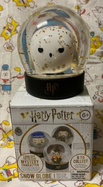 Harry Potter SNOW GLOBE HEDWIG Brand New