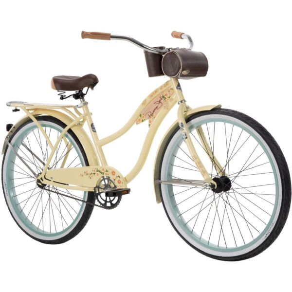 NEW Huffy Panama Jack 26quot; Beach Cruiser Bike for Women Cream Vanilla SHIPS ASAP $399.99