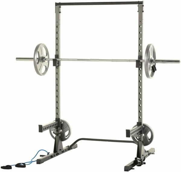 Fitness Reality Multi Function Power Squat Rack With 800lbs Weight Capacity. $379.99