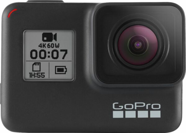 GoPro HERO7 Black 4K Waterproof Action Camera Black