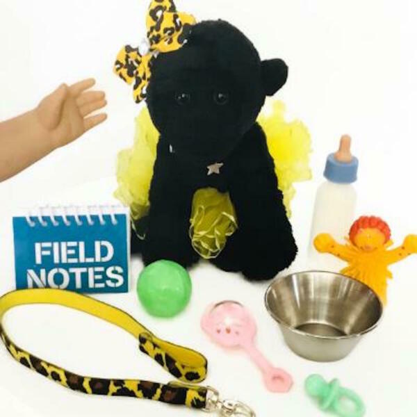 Baby Gorilla Zoo Pet for American Girl Doll 18quot; Accessories Fit Animal Pet SET $21.95