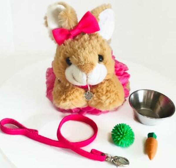 Bunny Rabbit Pet for American Girl Doll 18quot; Accessories Fit Animal Farm Play SET $18.99