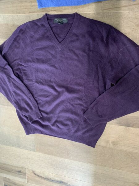 The Mens Store Bloomingdales Cashmere Size L