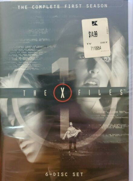 The X Files DVD 6 Disc Set The Complete First Season TV Show NEW and SEALED