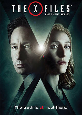 The X Files: The Event Series DVD 2016 3 Disc Set